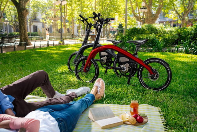 general motors cycles into a new market with its first ever ebikes the compact design of ar  v allow for easy transit and mo