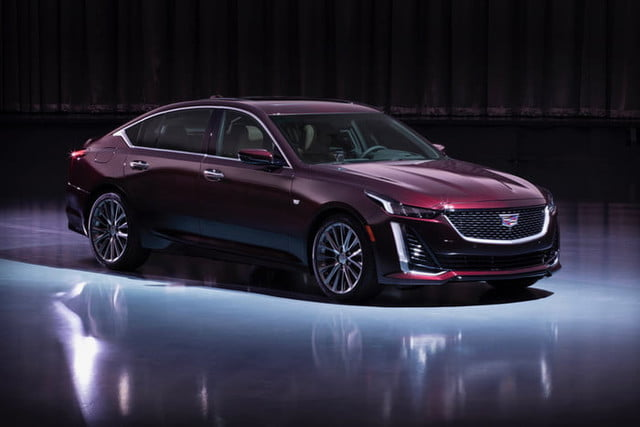 2020 Cadillac Ct5 Revealed Ahead Of 2019 New York Auto Show