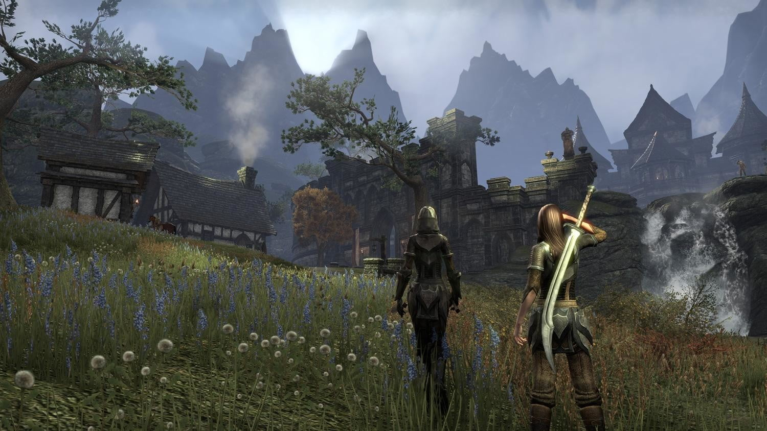 The Elder Scrolls Online features a star-studded voice cast