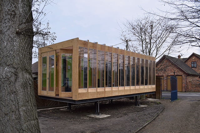 a hydraulic greenhouse rises off the ground during floods that grows legs  bat studio 1
