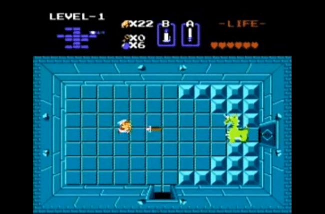 best nes games ever the legend of zelda screen 1