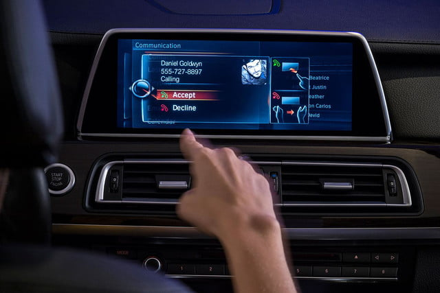 new bmw idrive features touchscreen and gesture recognition the next generation of 1