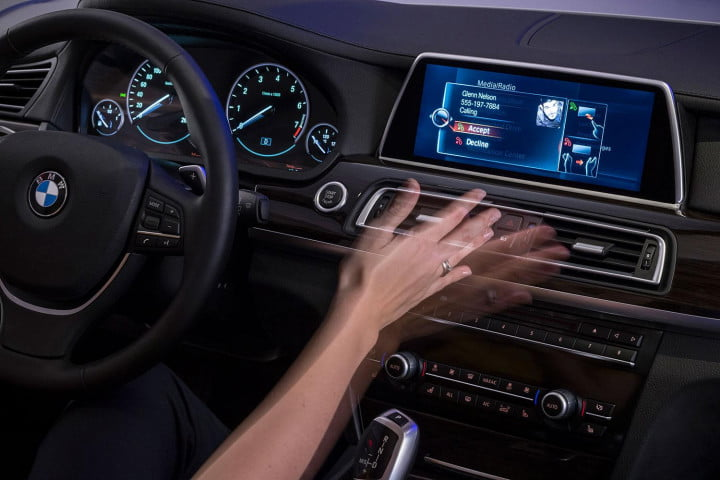 new bmw idrive features touchscreen and gesture recognition the next generation of 17