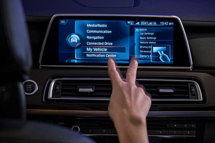 new bmw idrive features touchscreen and gesture recognition the next generation of 8