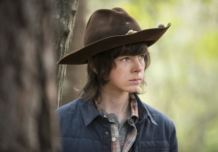 Image result for the walking dead carl