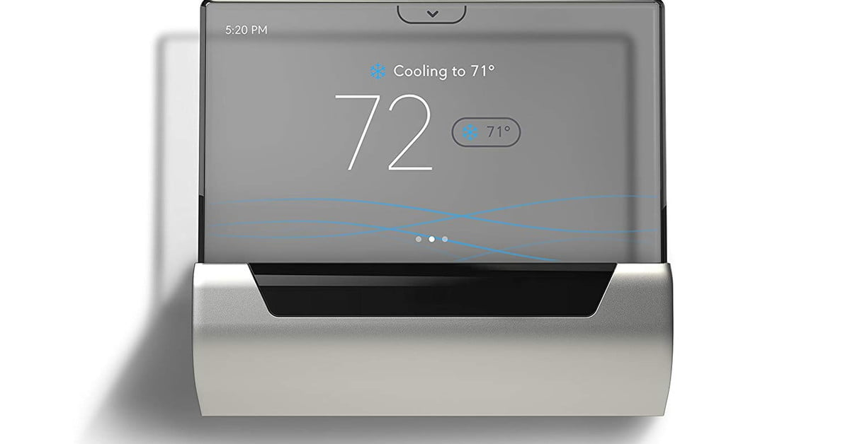 Johnson Controls Glas Thermostat Review Digital Trends
