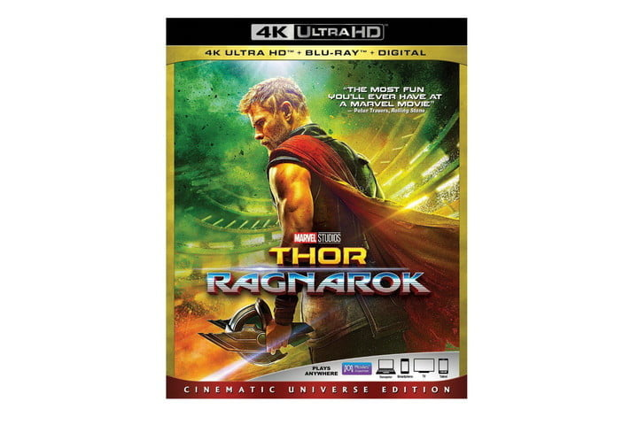 best 4k ultra hd movies to show off your home theater thor ragnarok