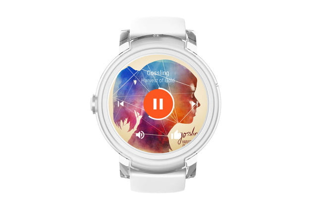 Ticwatch express white
