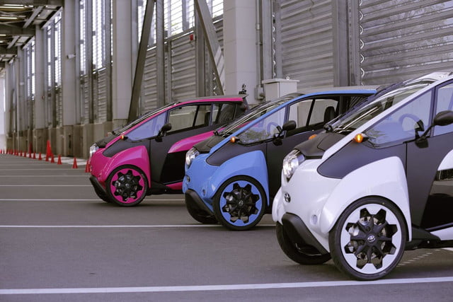 Toyota i-Road Open Road Project