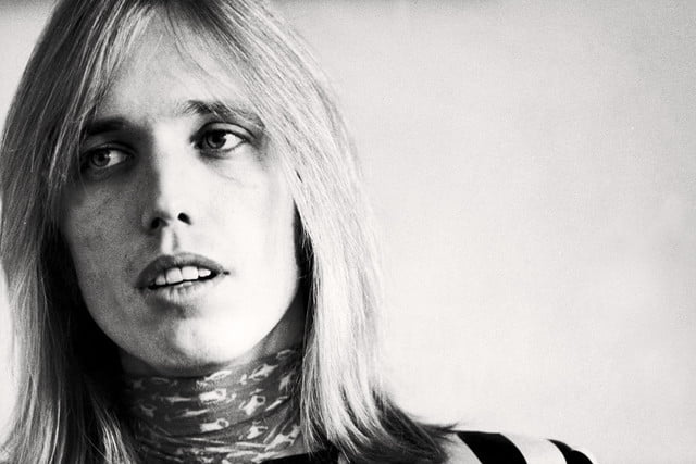 Tom Petty bw young
