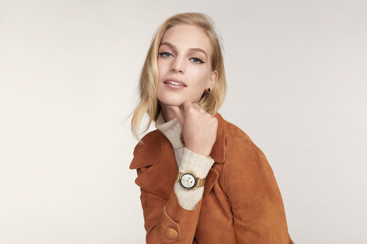 db36143c967 Tory Burch Branches Out Into Wear OS Smartwatches With the  395 Gigi ...