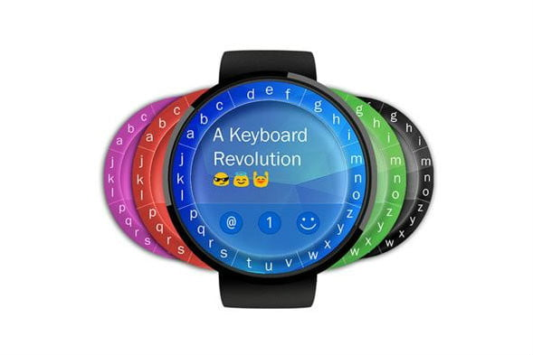 touchone smartwatch keyboard colors