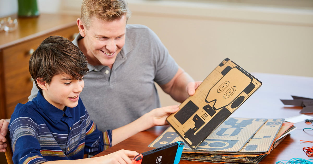 The German ratings board nearly threw the Nintendo Labo in the trash