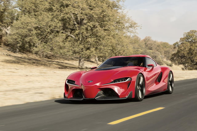 toyota taking detroit auto show storm downright stunning ft 1 concept ft1 exterior 020