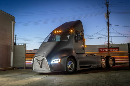 Thor Trucks wants to take on Tesla with its own electric semi truck