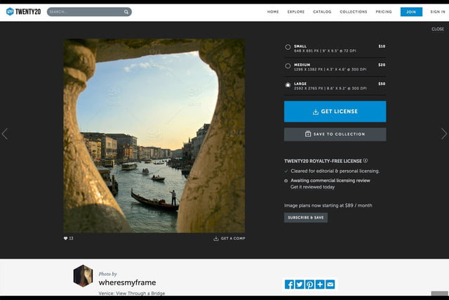 twenty20 wants to be the getty of mobile photography web photo preview