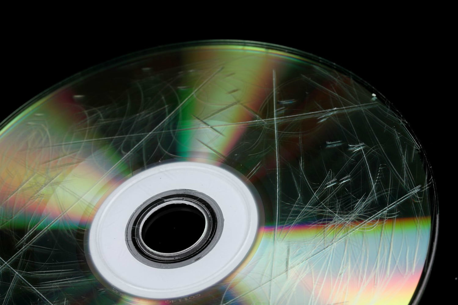 How to fix a scratched DVD or CD