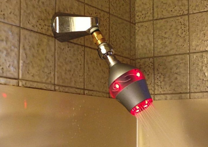 Uji shower head glows red when you take too long in the shower ...