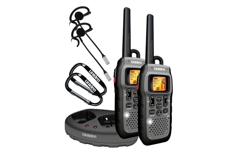 Uniden Submersible walkie talkie