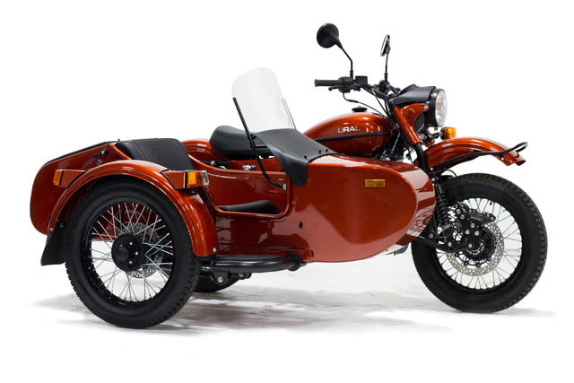 Sidecar Motorcycles with 2-Wheel Drive for Three Off-Road