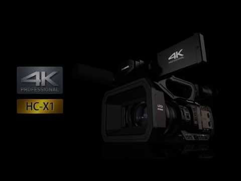 New 4K Professional Camcorder HC-X1 – 4K 60p/50p Camcorder with 1.0-type(inch)Sensor