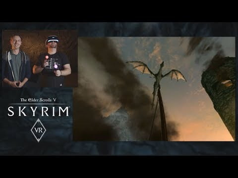Skyrim VR – Your First Steps Through Tamriel with PlayStation VR