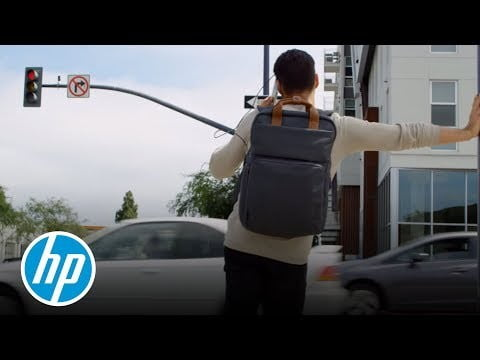 Introducing The HP Powerup Backpack – Portable Charger – HP Studios