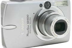 Canon PowerShot SD500 Review