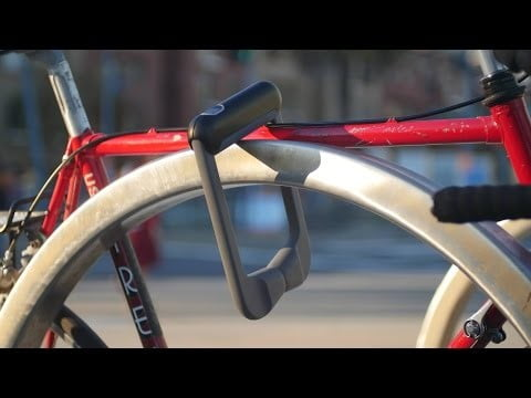 Quick Release Bike Lock with Fingerprint Recognition