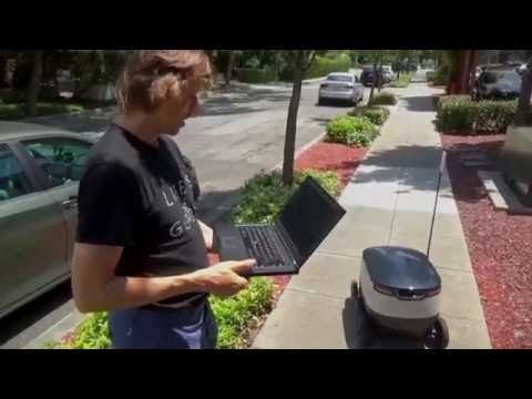 Testing of Starship Autonomous Delivery Robots in Silicon Valley
