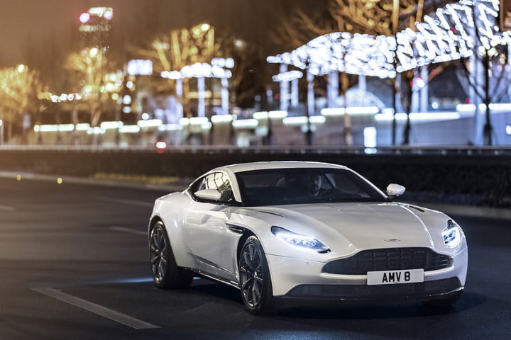 Aston Martin DB Adds TwinTurbo V Engine News Pictures Specs - Aston martin specs