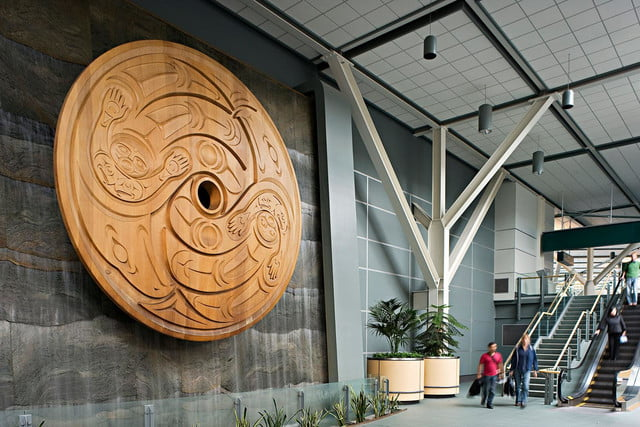 best airports for layovers vancouver international airport flight spindle whorl