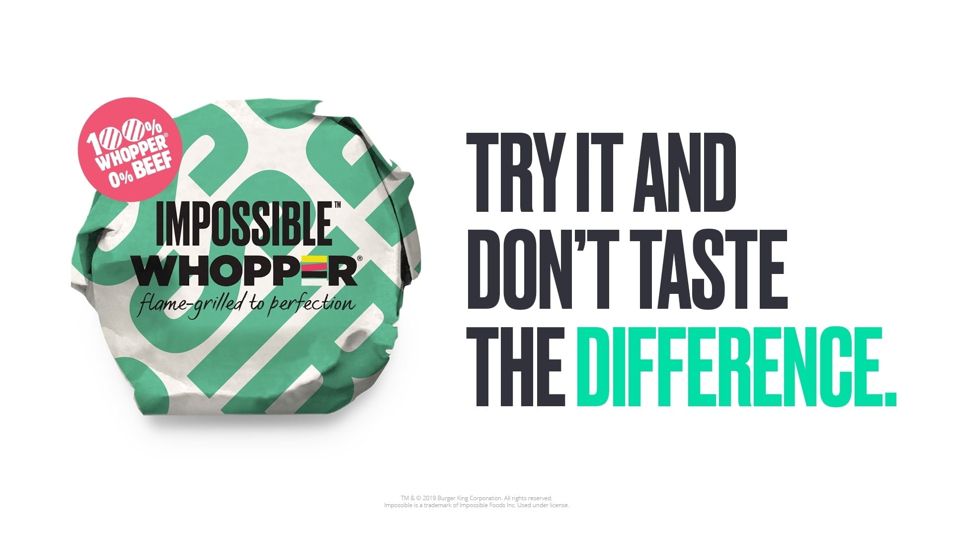 Burger King Goes Meatless With New Impossible Whopper Option