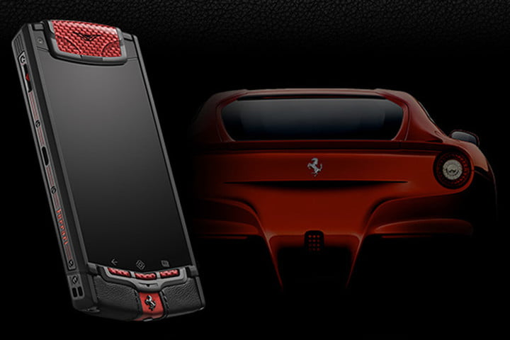 car branded smartphones are almost all bad vertu ti ferrari inspired by the f12 berlinetta launched