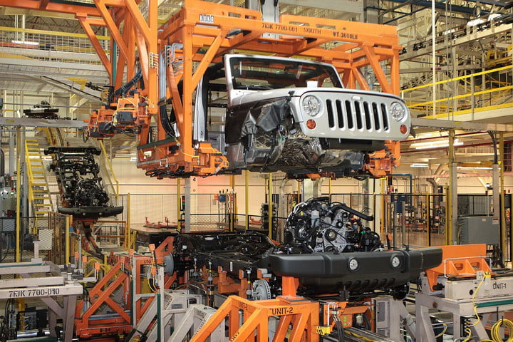 Jeep Wrangler Embly Lots Of Vehicles Are Made In America