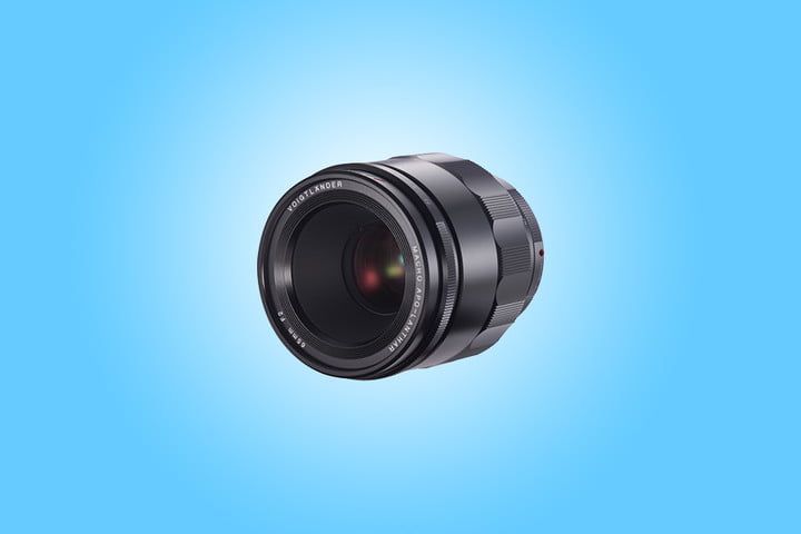 This Voigtlander 65mm is classically inspired but designed for modern cameras