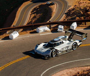 Volkswagen crushes Pikes Peak Hill Climb record with its newest EV