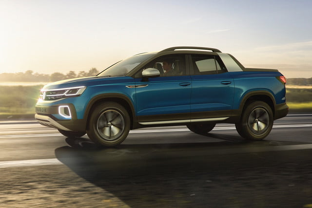 Would you buy the Tarok compact pickup truck? Volkswagen wants to know
