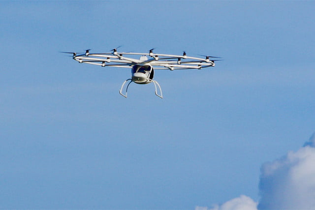 volocopter 2x flying machine sky