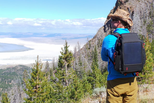 Voltaic OffGrid Solar backpack hero