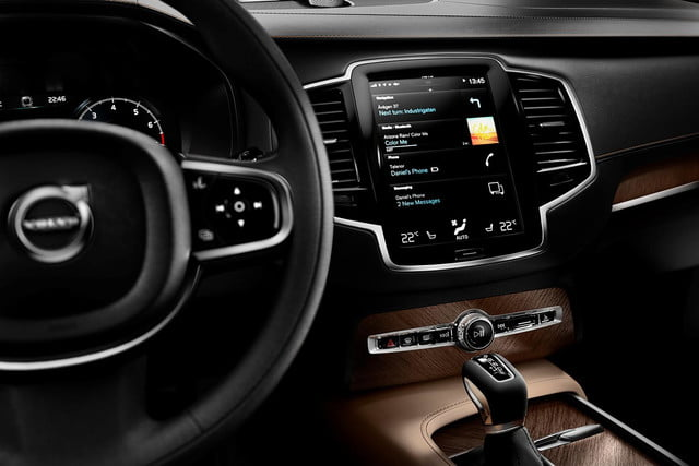 Image result for volvo infotainment system