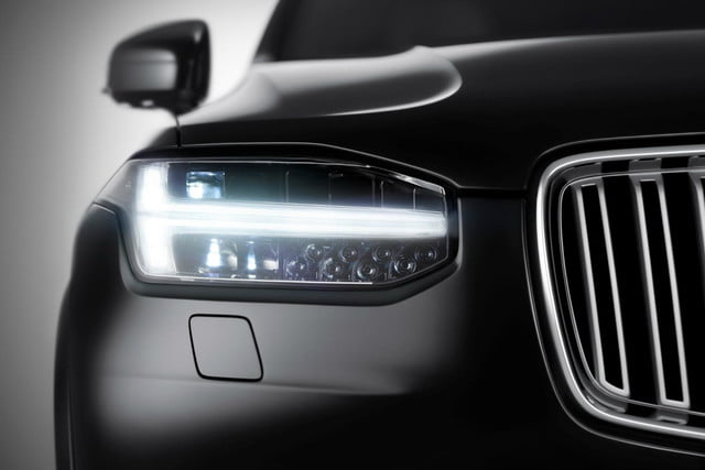 volvo teases new platform pictures xc90 thor s hammer