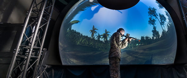 The U.S. Army is building a giant VR battlefield to train soldiers virtually