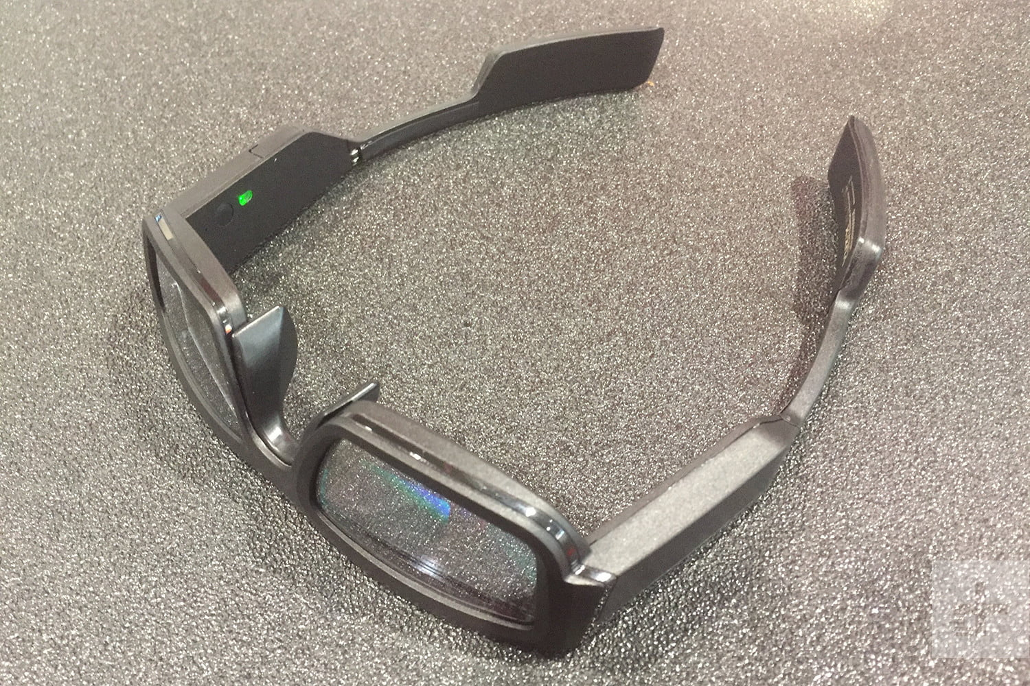 267cfe0f7b4 Hands On With Vuzix Blade Smartglasses at CES 2018