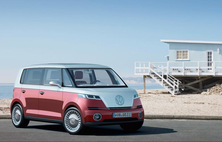 Light Your Incense The Vw Type 2 Van Might Come Back As A Battery Electric Vehicle