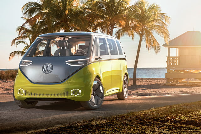 Vw Electric Car Future Id Buzz Concept Offset