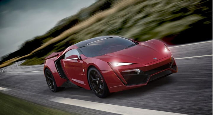 w motors lykan hypersport appears in production form dubai front three quarter red