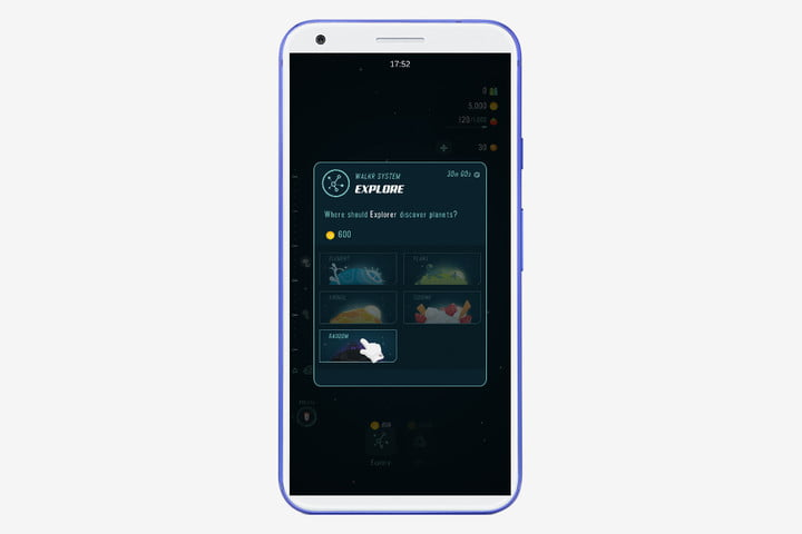 Walkr Android app