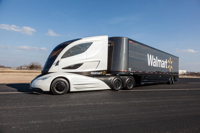 walmart isnt messing around grocery business just take look wave advanced vehicle experience concept truck
