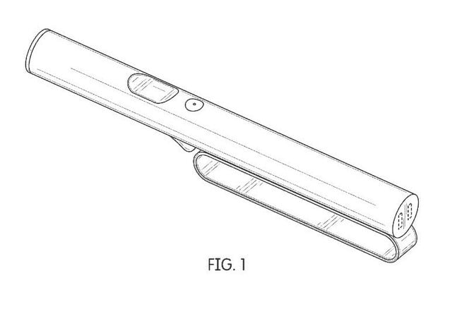 microsoft patent augmented reality controller wand01